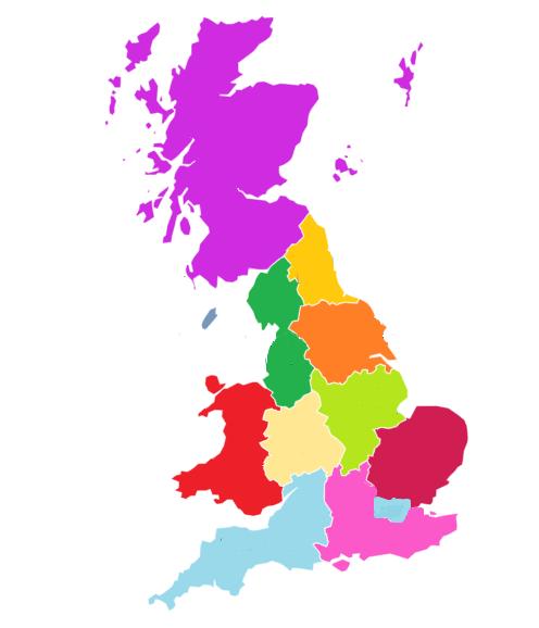 Main UK Map
